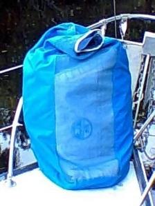 Jib sail vented bag
