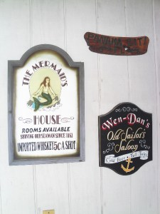 Our porch signs